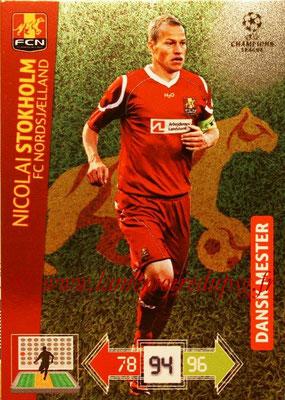 2012-13 - Adrenalyn XL champions League N° 362 - Nicolai STOKHOLM (FC Nordsjaelland) (Dansk Mester)