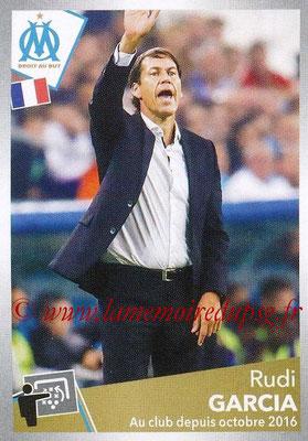 2017-18 - Panini Ligue 1 Stickers - N° 230 - Rudi GARCIA (Entraîneur Marseille)