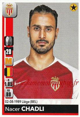 2018-19 - Panini Ligue 1 Stickers - N° 237 - Nacer CHADLI (Monaco)