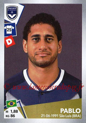 2017-18 - Panini Ligue 1 Stickers - N° T07 - PABLO (Bordeaux) (Transfert)