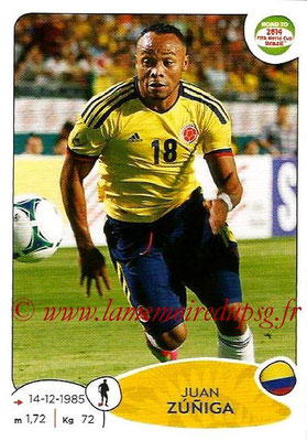 2014 - Panini Road to FIFA World Cup Brazil Stickers - N° 176 - Juan ZUNIGA (Colombie)