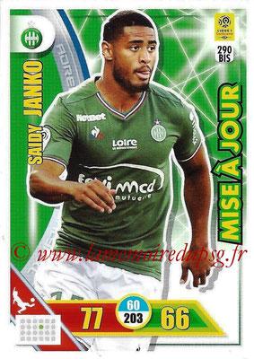 2017-18 - Panini Adrenalyn XL Ligue 1 - N° 290bis - Saidy JANKO (Saint-Etienne) (Mise à jour)