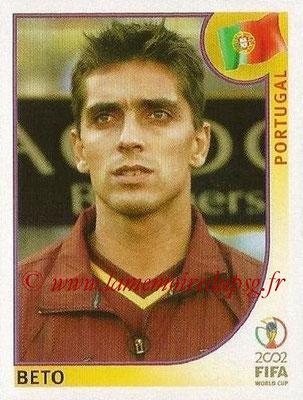 2002 - Panini FIFA World Cup Stickers - N° 299 - BETO (Portugal)