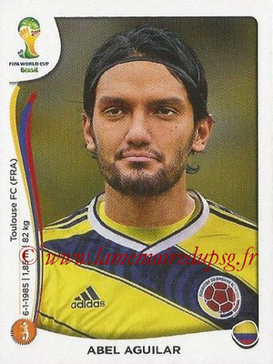 2014 - Panini FIFA World Cup Brazil Stickers - N° 194 - Abel AGUILAR (Colombie)