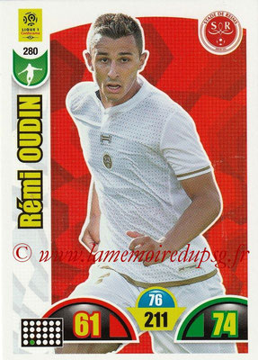 2018-19 - Panini Adrenalyn XL Ligue 1 - N° 280 - Rémi OUDIN (Reims)