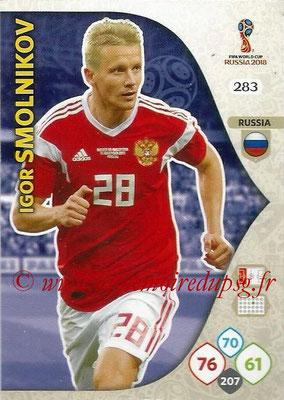 2018 - Panini FIFA World Cup Russia Adrenalyn XL - N° 283 - Igor SMOLNIKOV (Russie)