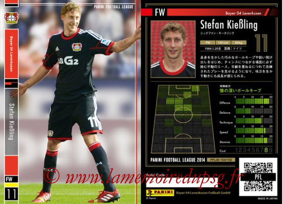 Panini Football League 2014 - PFL06 - N° 104 - Stefan KIEBLING (Bayer 04 Leverkusen)