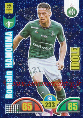 2018-19 - Panini Adrenalyn XL Ligue 1 - N° 392 - Romain HAMOUMA (Saint-Etienne) (Idole)