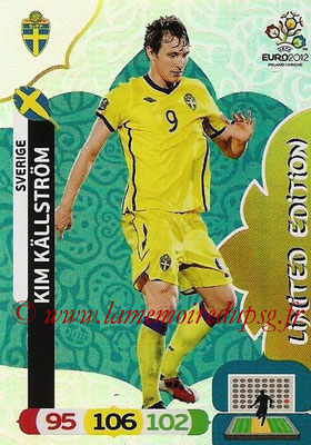 Panini Euro 2012 Cards Adrenalyn XL - N° LE47 - Kim KÄLLSTRÖM (Suède) (Limited Edition)
