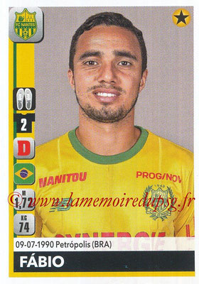 2018-19 - Panini Ligue 1 Stickers - N° 279 - FABIO (Nantes)