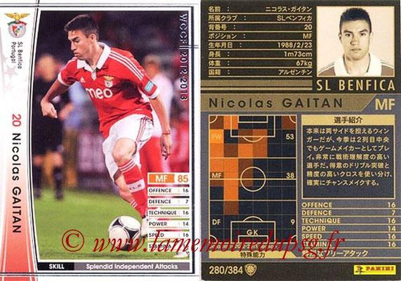 2012-13 - WCCF - N° 280 - Nicolas GAITAN (SL Benfica)
