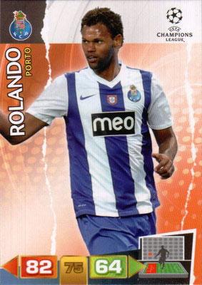 2011-12 - Panini Champions League Cards - N° 213 - ROLANDO (FC Porto)