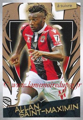 2017-18 - Panini Ligue 1 Stickers - N° 362 - Allan SAINT-MAXIMIN (Nice) (A suivre)