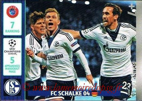 2014-15 - Adrenalyn XL champions League Update edition N° UE015 - FC Schalke 04 (Round of 16)