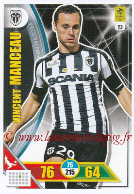 2017-18 - Panini Adrenalyn XL Ligue 1 - N° 023 - Vincent MANCEAU (Angers)