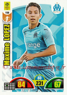 2018-19 - Panini Adrenalyn XL Ligue 1 - N° 158 - Maxime LOPEZ (Marseille)