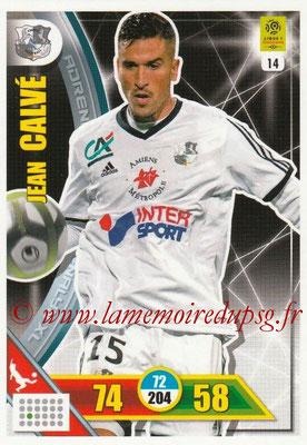 2017-18 - Panini Adrenalyn XL Ligue 1 - N° 014 - Jean CALVE (Amiens)