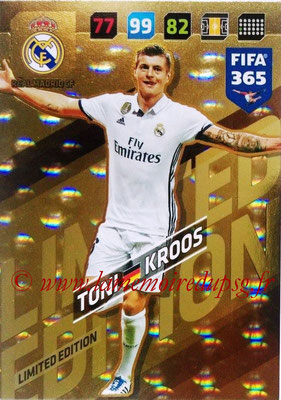2017-18 - Panini FIFA 365 Cards - N° LE-TK - Toni KROOS (Real Madric CF) (Limited Edition)