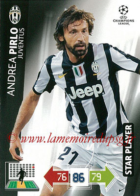 2012-13 - Adrenalyn XL champions League N° 115 - Andrea PIRLO (Juventus FC) (Star Player)