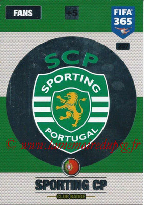 2016-17 - Panini Adrenalyn XL FIFA 365 - N° 257 - Logo SportIng CP (Club Badge)