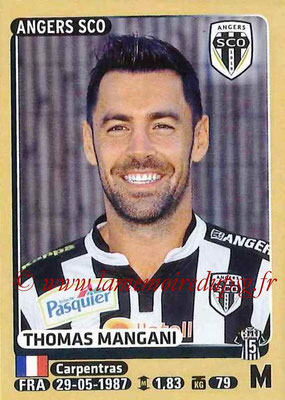 2015-16 - Panini Ligue 1 Stickers - N° 040 - Thomas MANGANI (SCO Angers)