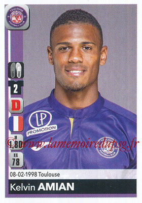 2018-19 - Panini Ligue 1 Stickers - N° 478 - Kevin AMIAN (Toulouse)