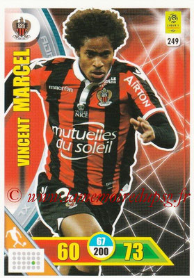 2017-18 - Panini Adrenalyn XL Ligue 1 - N° 249 - Vincent MARCEL (Nice)