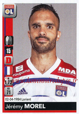 2018-19 - Panini Ligue 1 Stickers - N° 183 - Jérémy MOREL (Lyon)