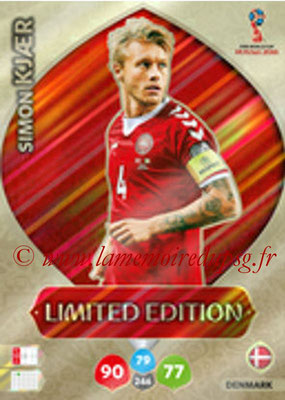 2018 - Panini FIFA World Cup Russia Adrenalyn XL - N° LE-SK - Simon KJAER (Danemark) (Limited Edition)