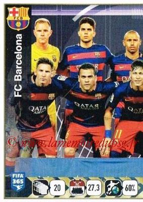 2015-16 - Panini FIFA 365 Stickers - N° 357 - Equipe FC Barcelone 1