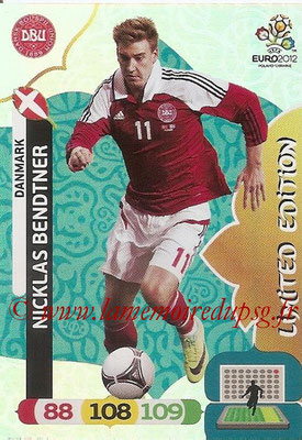 Panini Euro 2012 Cards Adrenalyn XL - N° LE08 - Nicklas BENDTNER (Danemark) (Limited Edition)