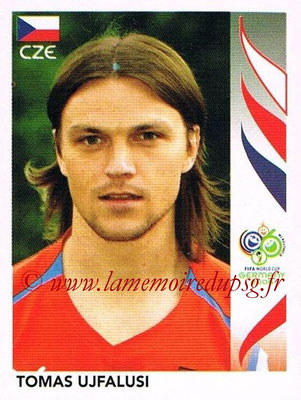 2006 - Panini FIFA World Cup Germany Stickers - N° 366 - Tomas UJFALUSI (République Tchèque)