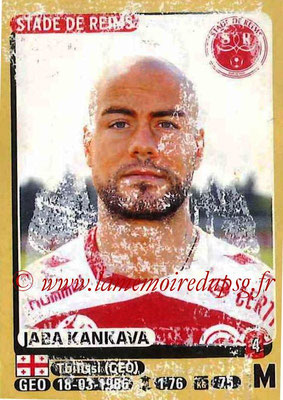 2015-16 - Panini Ligue 1 Stickers - N° 374 - Jaba KANKAVA (Stade de Reims)