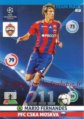 2014-15 - Adrenalyn XL champions League N° 127 - Mario FERNANDEZ ( PFC CSKA Moscou)