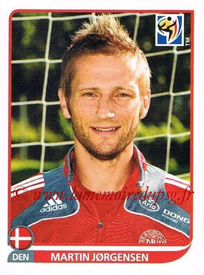 2010 - Panini FIFA World Cup South Africa Stickers - N° 366 - Martin JORGENSEN (Danemark)