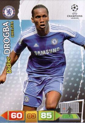 2011-12 - Panini Champions League Cards - N° 094 - Didier DROGBA (Chelsea FC)