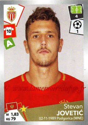 2017-18 - Panini Ligue 1 Stickers - N° 279 - Stevan JOVETIC (Monaco)