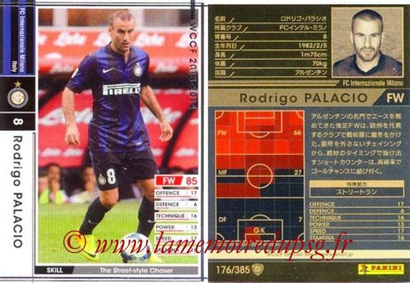 2013-14 - WCCF - N° 176 - Rodrigo PALACIO (Inter Milan)