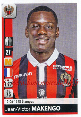 2018-19 - Panini Ligue 1 Stickers - N° 313 - Jean-Victor MAKENGO (Nice)