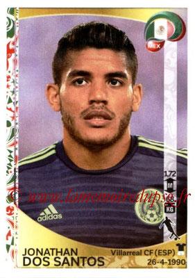 Panini Copa America Centenario USA 2016 Stickers - N° 223 - Jonathan DOS SANTOS (Mexique)