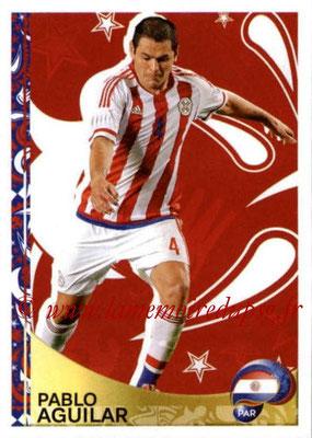 Panini Copa America Centenario USA 2016 Stickers - N° 423 - Pablo AGUILAR (Paraguay) (En action)