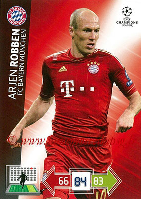 2012-13 - Adrenalyn XL champions League N° 056 - Arjen ROBBEN (FC Bayern Munich)