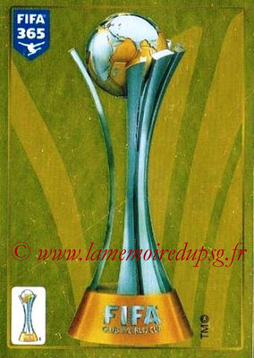 2015-16 - Panini FIFA 365 Stickers - N° 014 - FIFA Club World Cup Trophy