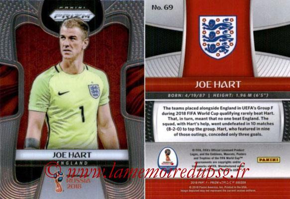 2018 - Panini Prizm FIFA World Cup Russia - N° 069 - Joe HART (Angleterre)