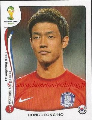 2014 - Panini FIFA World Cup Brazil Stickers - N° 625 - Hong JEONG-HO (Corée du Sud)