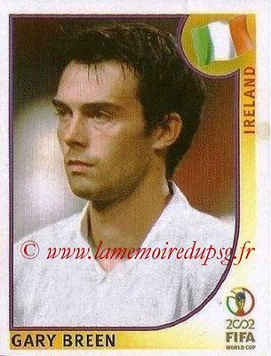 2002 - Panini FIFA World Cup Stickers - N° 352 - Gary BREEN (Irlande)