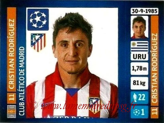 N° 505 - Cristian RODRIGUEZ (2005-Aout 2007, PSG > 2013-14, Atletico Madrid, ESP)