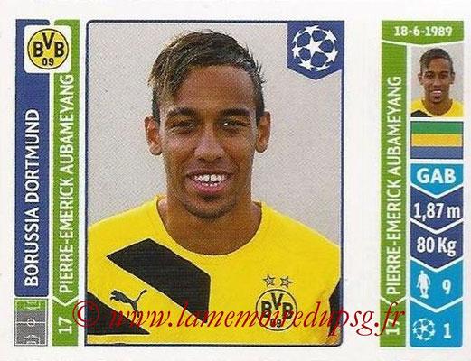 2014-15 - Panini Champions League N° 287 - Pierre-Emerick AUBAMEYANG (Borussia Dortmund)