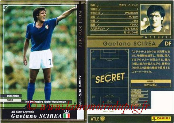 2013-14 - WCCF - N° ATLE04 - Gaetano SCIREA (Italie) (All Time Legend)
