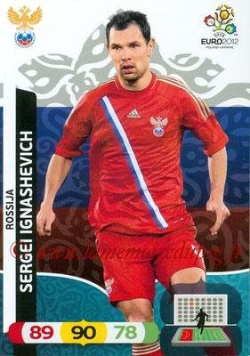 Panini Euro 2012 Cards Adrenalyn XL - N° 193 - Sergei IGNASHEVICH (Russie)